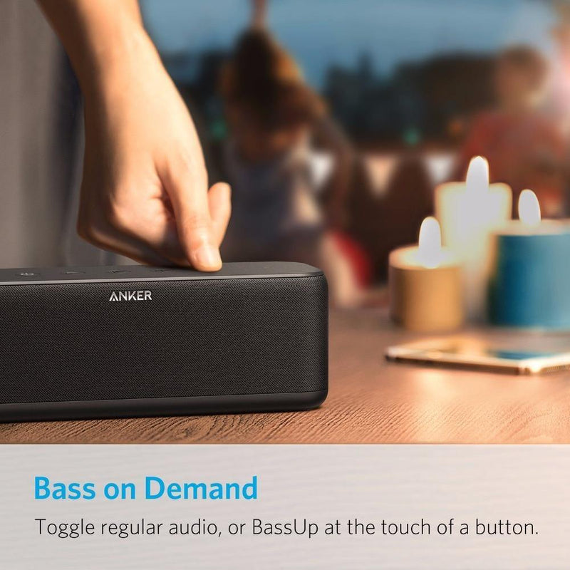 Anker SoundCore Boost 20W Bluetooth Speaker with BassUp Technology - asmpick