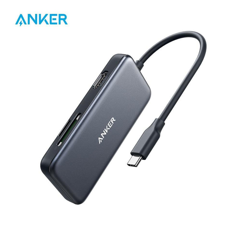 Anker USB C Hub,5-in-1 C Adapter & 4K to HDMI,SD/TF Card Reade - asmpick
