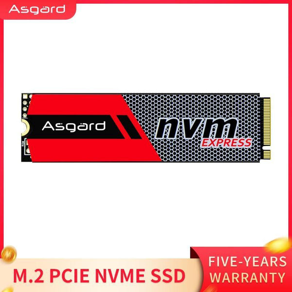 Asgard 3D NAND 256/512GB 1TB high performance pcie M.2 SSD Hard Drive for Laptop - asmpick