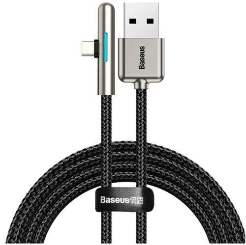 Baseus 40W USB Type C Cable Fast Charging Type C Cable Elbow LED For Samsung S10 - asmpick