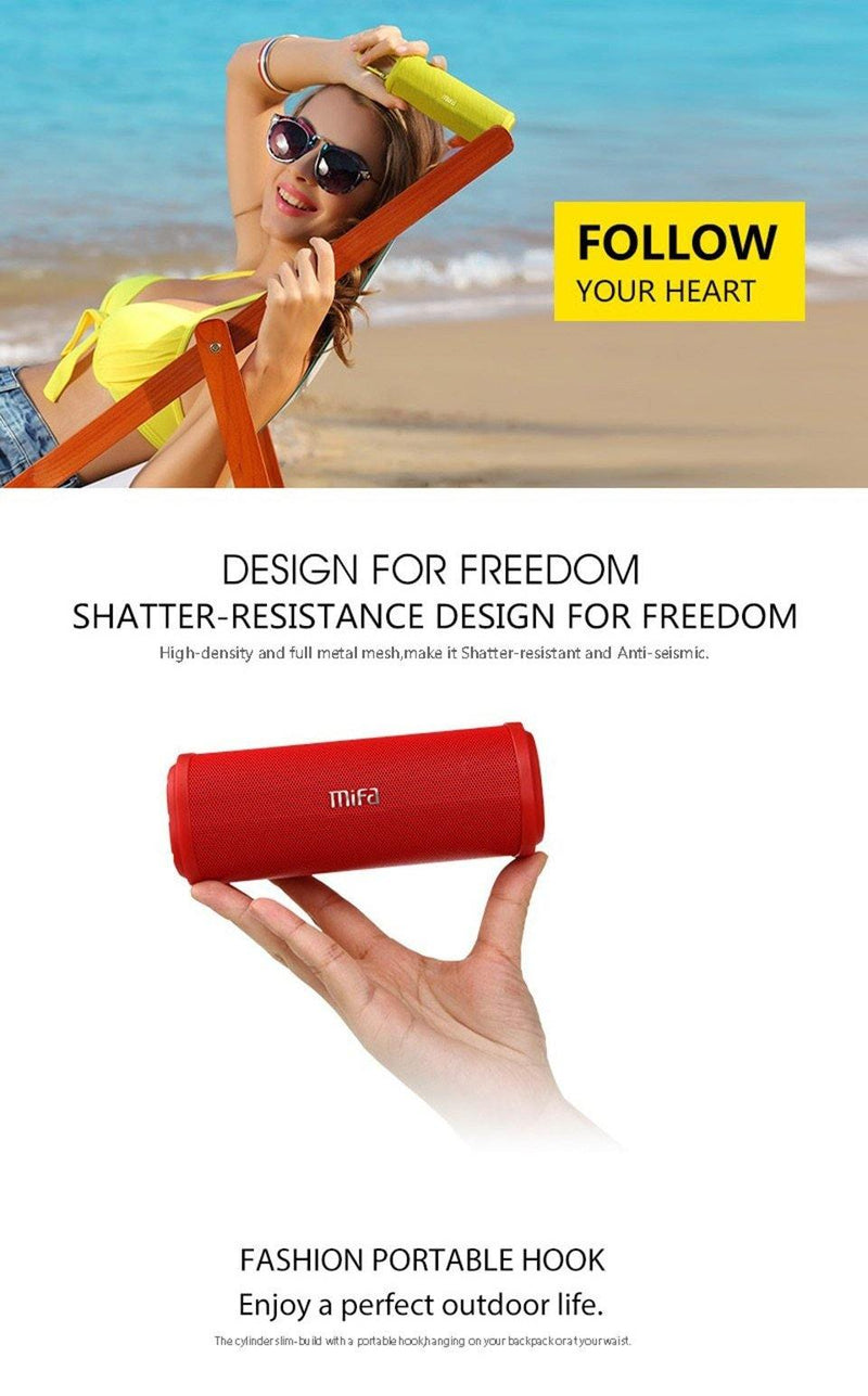 MIFA F5 Bluetooth Wireless Stereo Speaker protable blutooth 4.0 - asmpick
