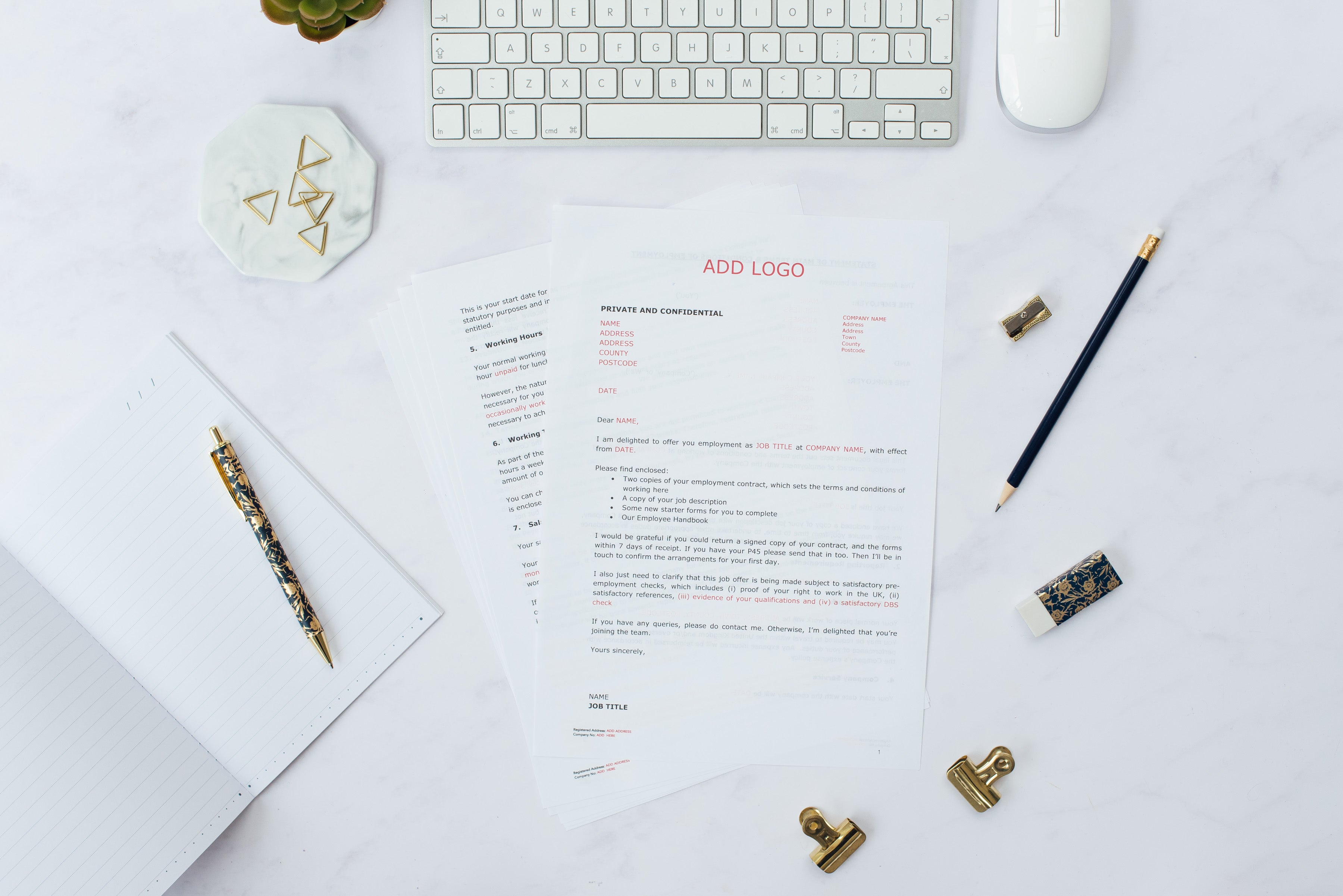 SELF-EMPLOYED CONTRACTOR AGREEMENT TEMPLATE