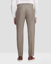 Noah Plainweave Flat Front Wool Trousers