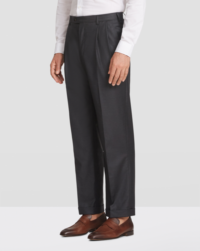 Bennett Tasmanian Double Pleated Trousers