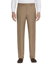 Todd Flat Front Wool Serge Trousers