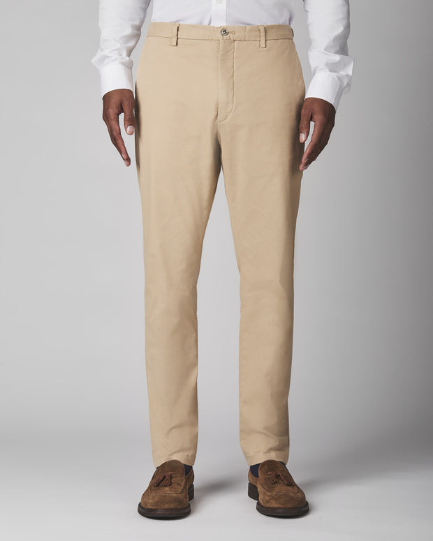 Noah Garment Dyed Stretch Chinos