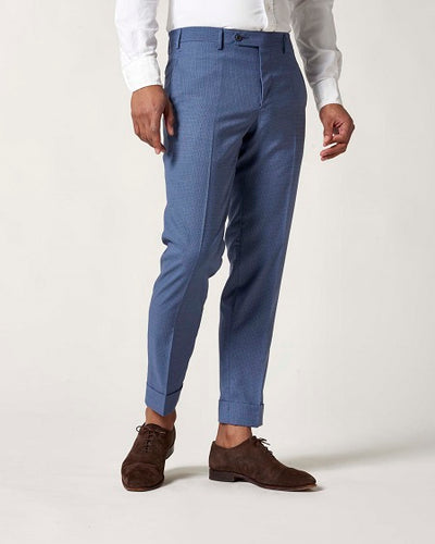 Curtis Houndstooth Check Trouser
