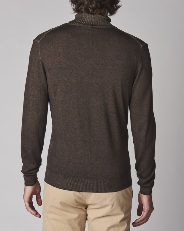 Garment Dyed Merino Turtleneck
