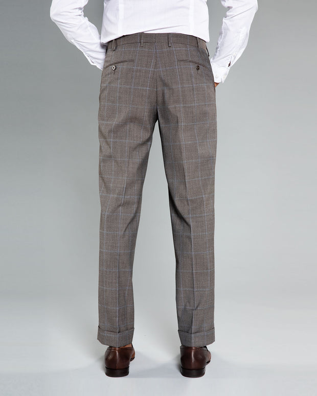 Parker windowpane Dress Trousers