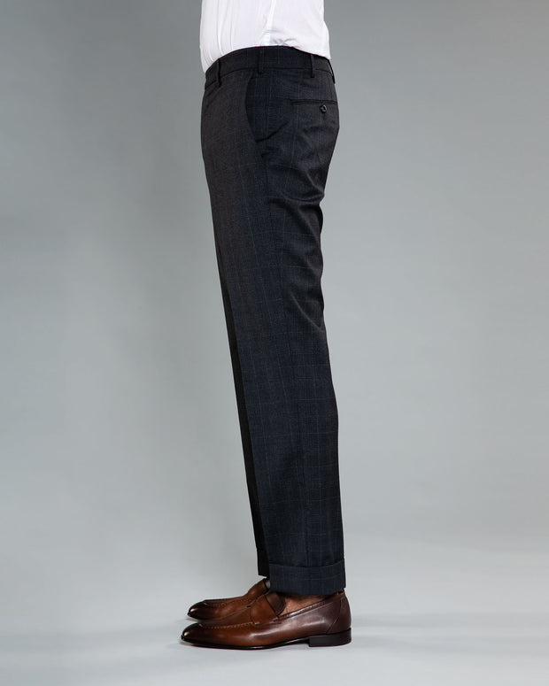 Curtis plaid Dress Trousers