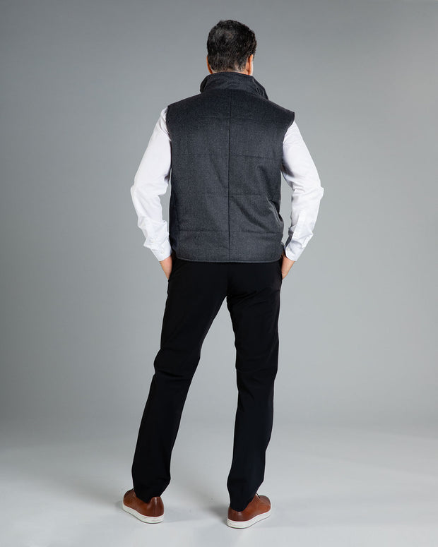 ZANELLA VEST, available in 2 colors