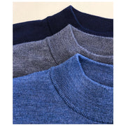 Merino Mock Neck Sweaters