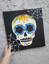 Load image into Gallery viewer, Art Box - Sugar Skull Painting Kit