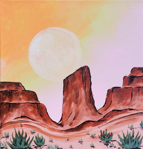 Art Box - Desert Sunrise