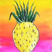 Load image into Gallery viewer, Art Box - Happy Pineapple