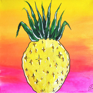 Art Box - Happy Pineapple