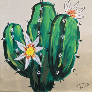 Art Box - Cactus in Bloom