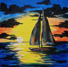 Load image into Gallery viewer, Art Box - Sunset Sail