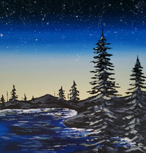 Load image into Gallery viewer, Art Box - Starry Shoreline
