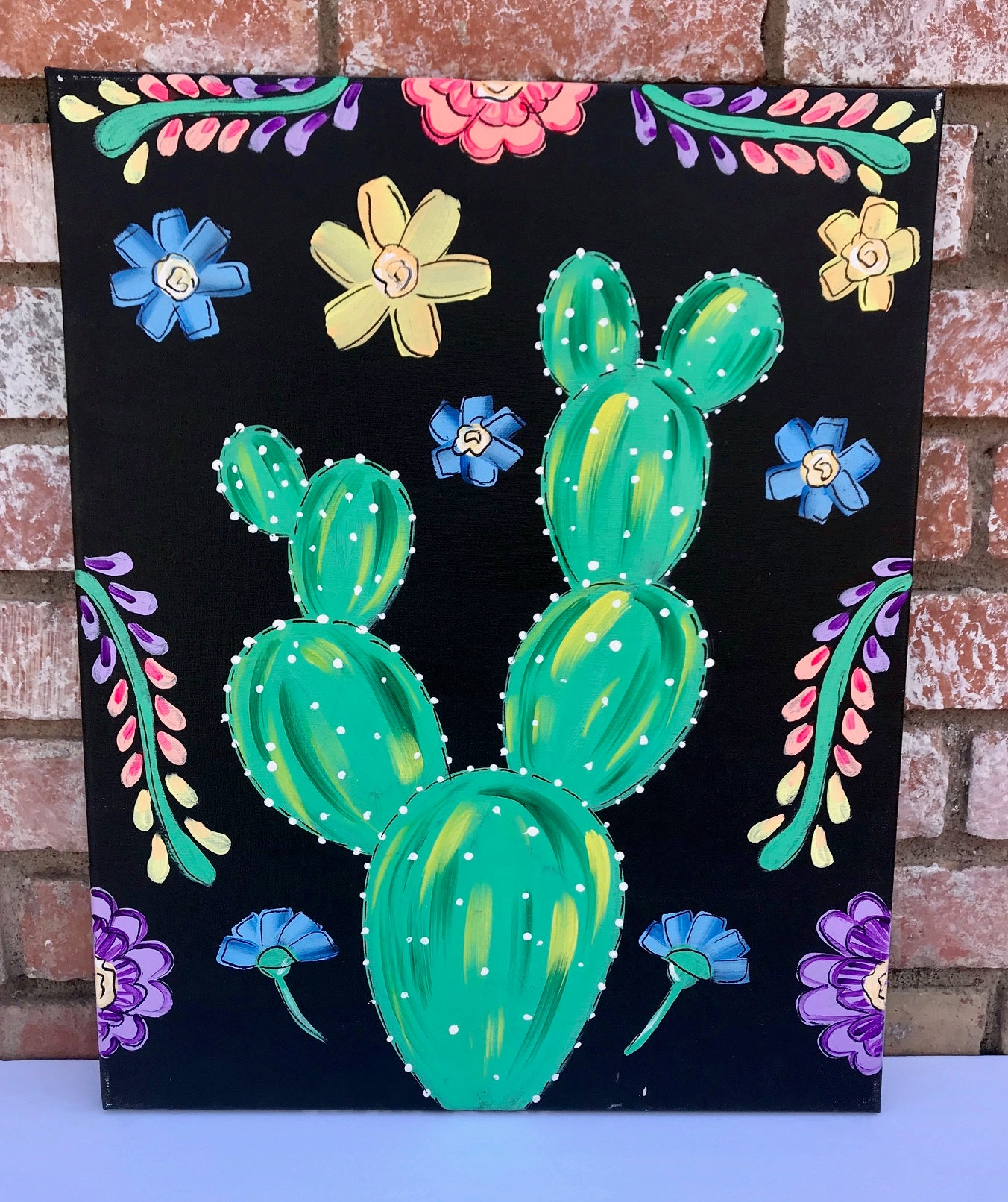 Cactus Fiesta Painting Kit
