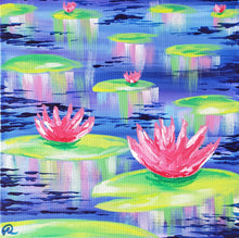 Load image into Gallery viewer, Art Box - Water Lilies