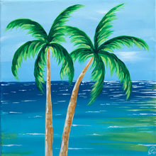 Load image into Gallery viewer, Art Box - Beach Palms