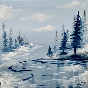 Art Box - Winter Pond