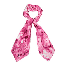 Load image into Gallery viewer, Pink Galena square scarf