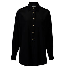 Load image into Gallery viewer, Winona Black Relaxed Shirt