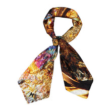 Load image into Gallery viewer, Pyrite Square Scarf