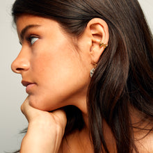 Load image into Gallery viewer, MMM EAR CUFF 18 carat gold vermeil Polished