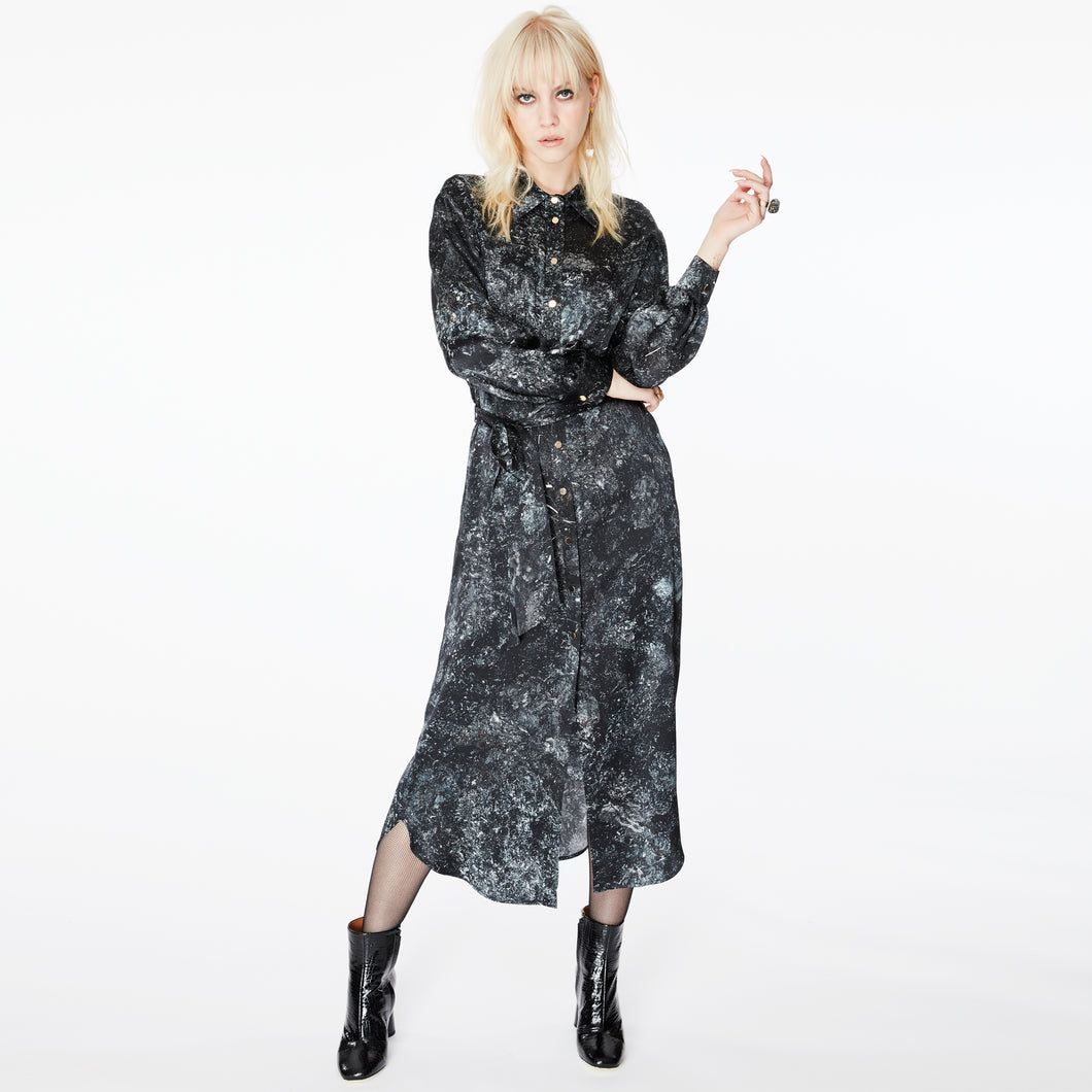 Harry Goethite Midi Shirt Dress