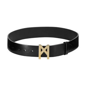 Signature Belt Gold / Black