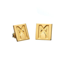 "Load image into Gallery viewer, The ""M"" Convertible Dalmation Earrings"