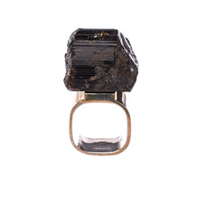 Load image into Gallery viewer, Roxx Black Tourmaline Ring
