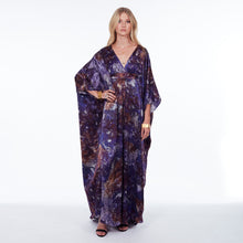 Load image into Gallery viewer, Dunaway Kaftan Amethyst Long