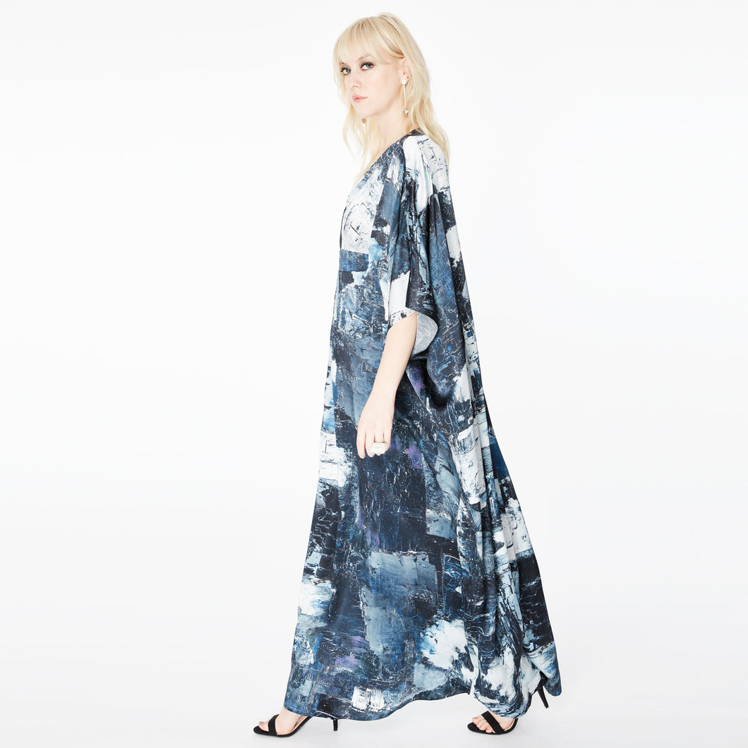 Dunaway Galena Abstract Kaftan