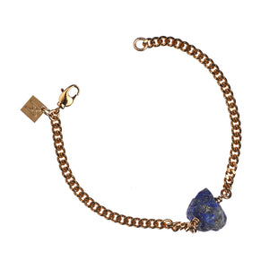 The Raw One Lapis Lazuli Bracelet