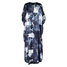 Load image into Gallery viewer, Dunaway Galena Abstract Kaftan
