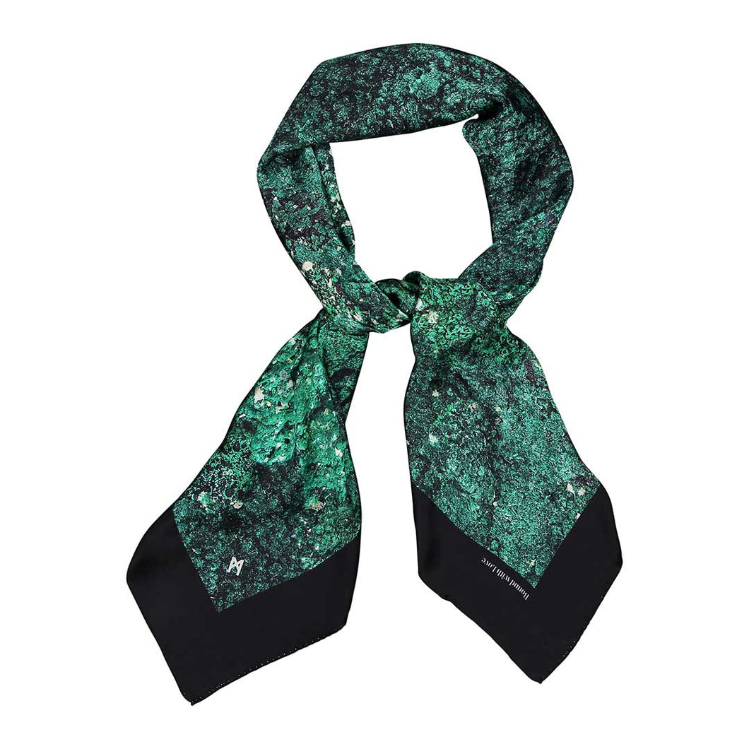 MALACHITE SQUARE SCARF