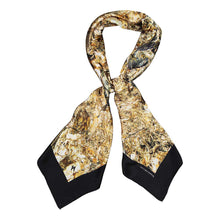 Load image into Gallery viewer, PYRITE METALLIC SQUARE SCARF