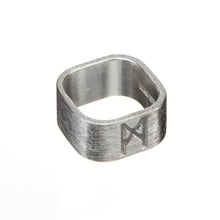 Load image into Gallery viewer, Signature Ring Silver Brushed