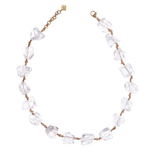 Not A Pearl Necklace Rough Quartz