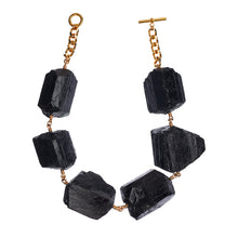 Load image into Gallery viewer, Not a Pearl Necklace XXL Black Tourmaline