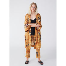 Load image into Gallery viewer, Rossellini yellow fluorite kimono
