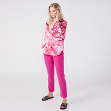 Load image into Gallery viewer, Farrah pink galena batwing top