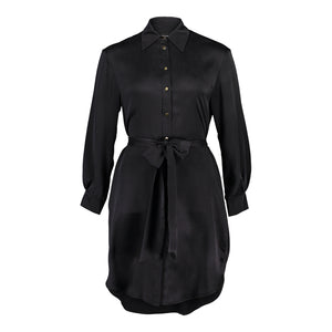 Carte Blanche black shirt dress