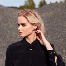 Load image into Gallery viewer, Carte Blanche black shirt dress
