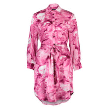 Load image into Gallery viewer, Carte Blanche pink galena shirt dress