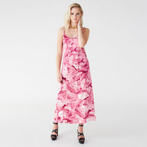 Pfeiffer pink galena slip dress